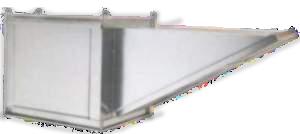 Picture of 13' Wall Canopy Hood, Fan, Supply Fan System