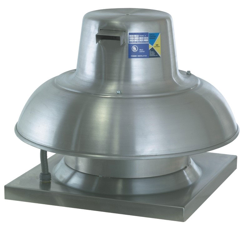 Picture of Direct Drive Downblast Exhaust Fan - 600 CFM