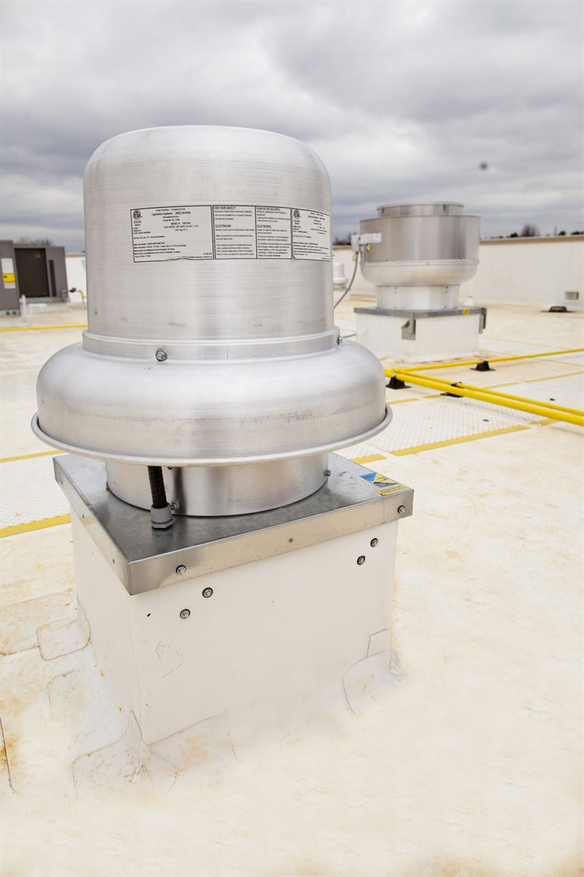 Picture of Belt Drive Downblast Exhaust Fan - 4000 CFM