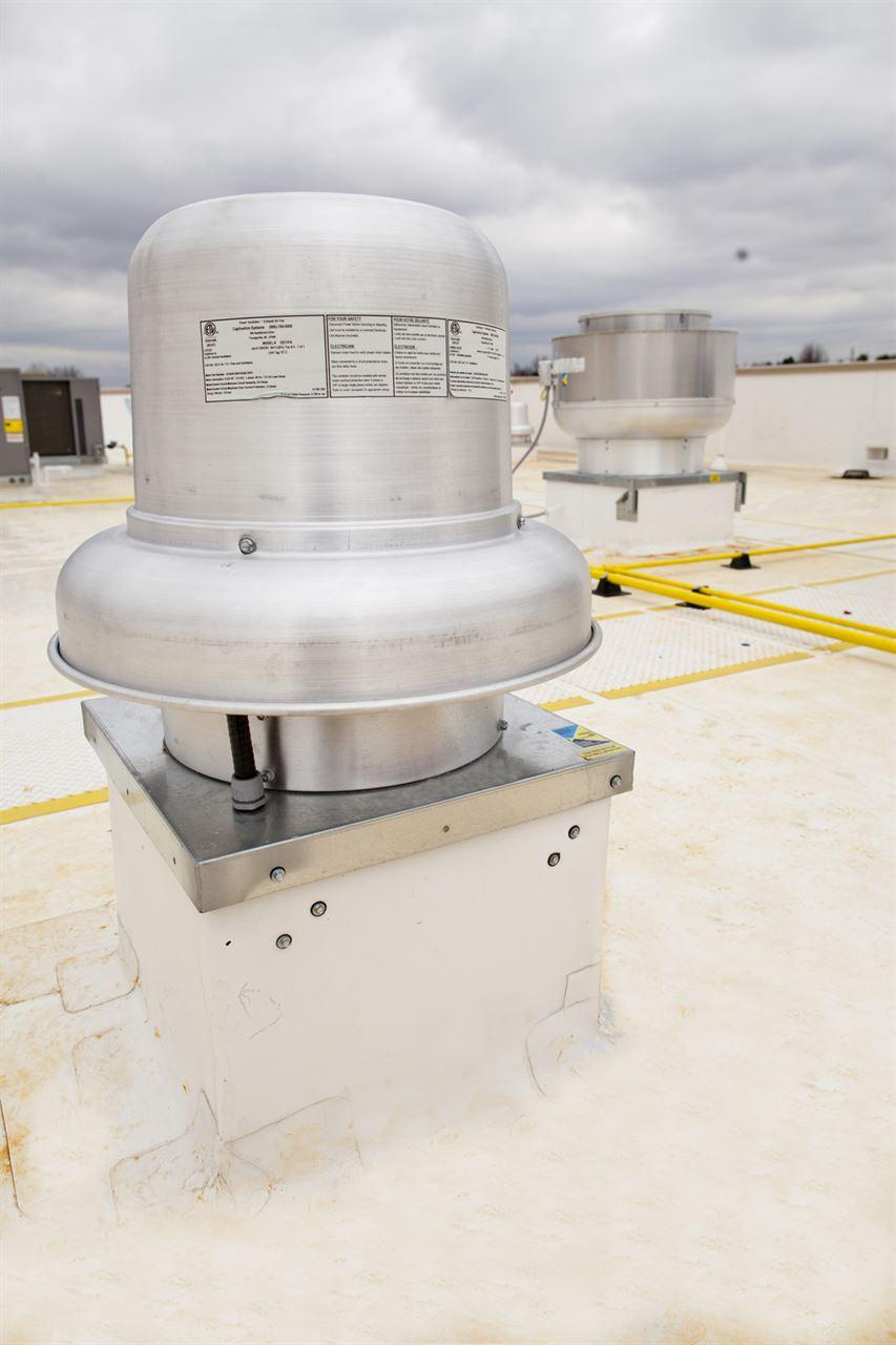 Picture of Belt Drive Downblast Exhaust Fan - 800 CFM
