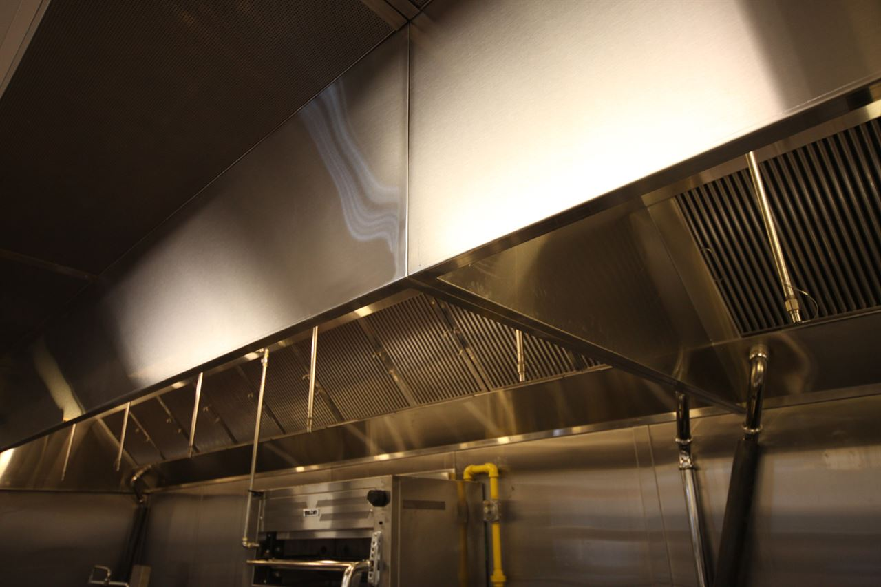 Ventilation Direct Kitchen Hood Make Up Air System