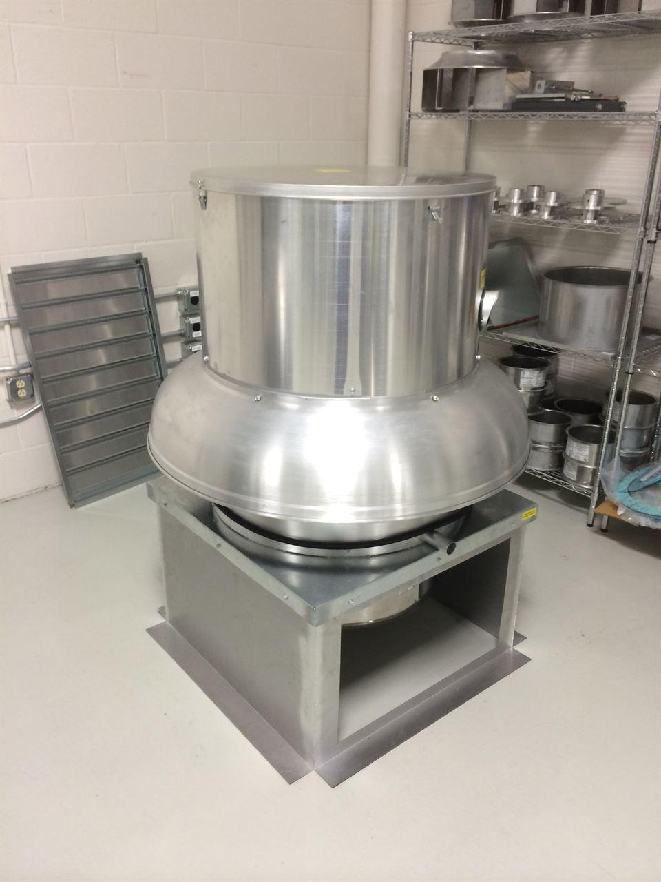 Picture of Belt Drive Downblast Exhaust Fan - 7000 CFM
