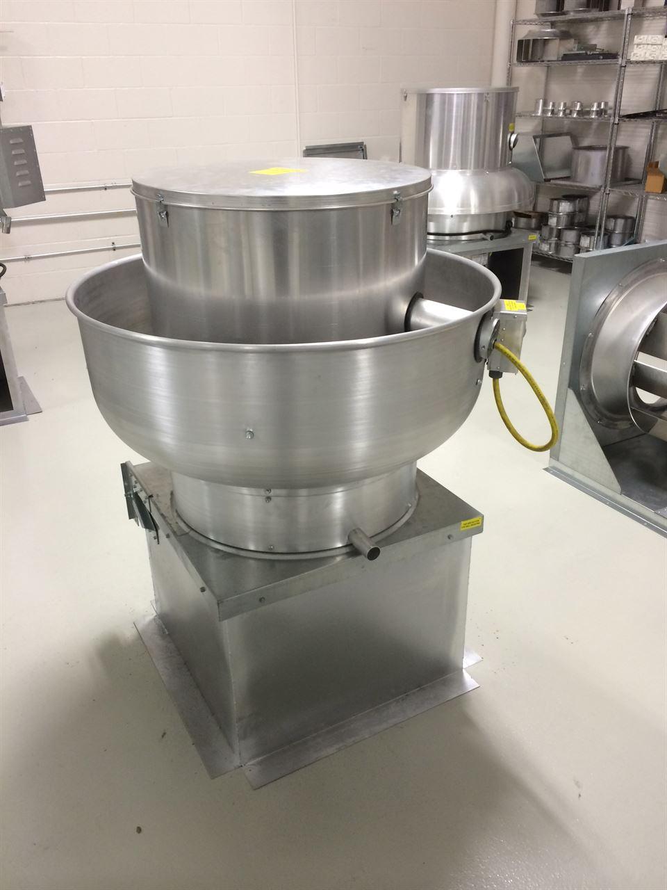 Picture of Belt Drive Upblast Exhaust Fan - 5500 CFM - 33
