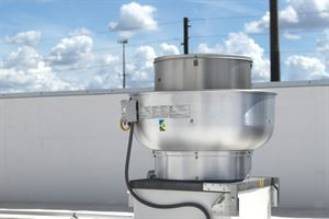 Picture of Centrifugal Upblast Exhaust Fan - 3500 CFM