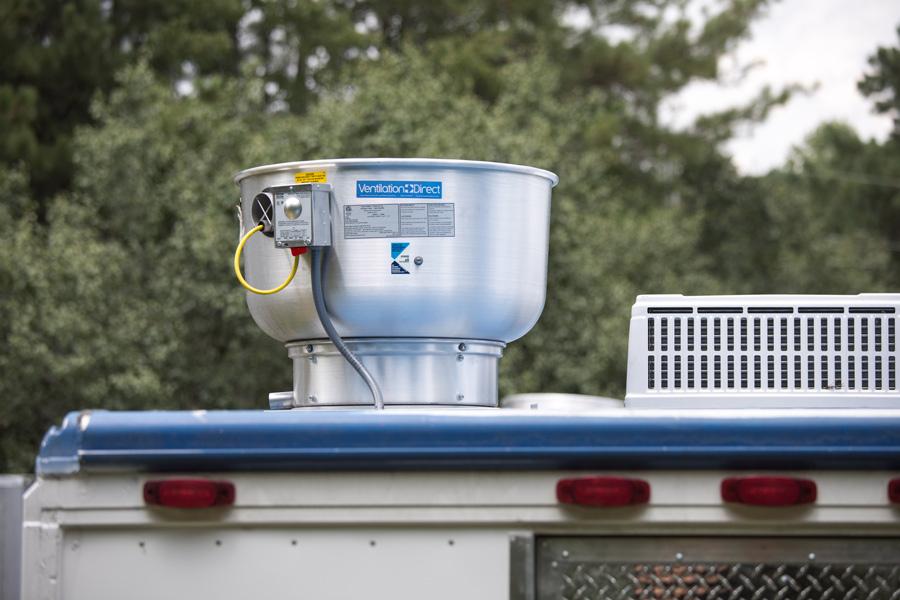 Ventilation Direct Food Truck