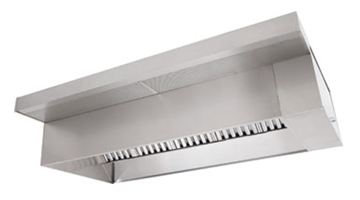 Picture of 4' Wall Canopy Hood, Fan, Supply Fan System