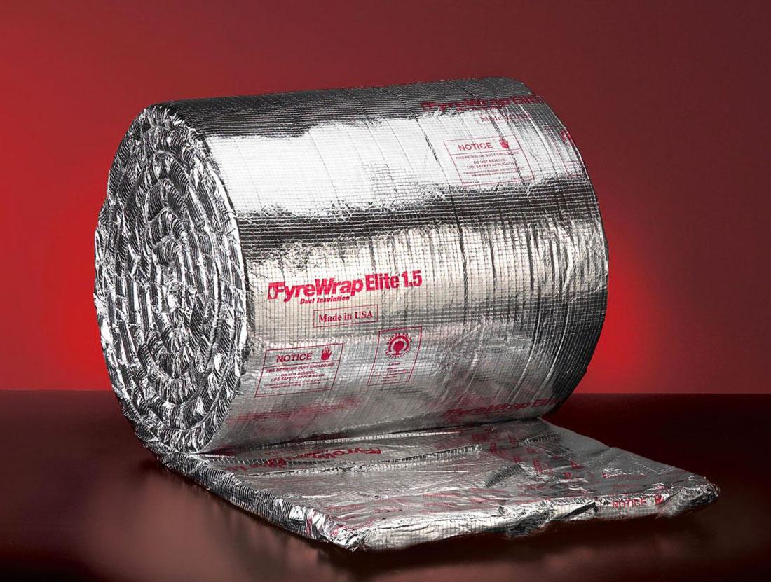 Picture of Duct Wrap: Unifrax FyreWrap 1.5