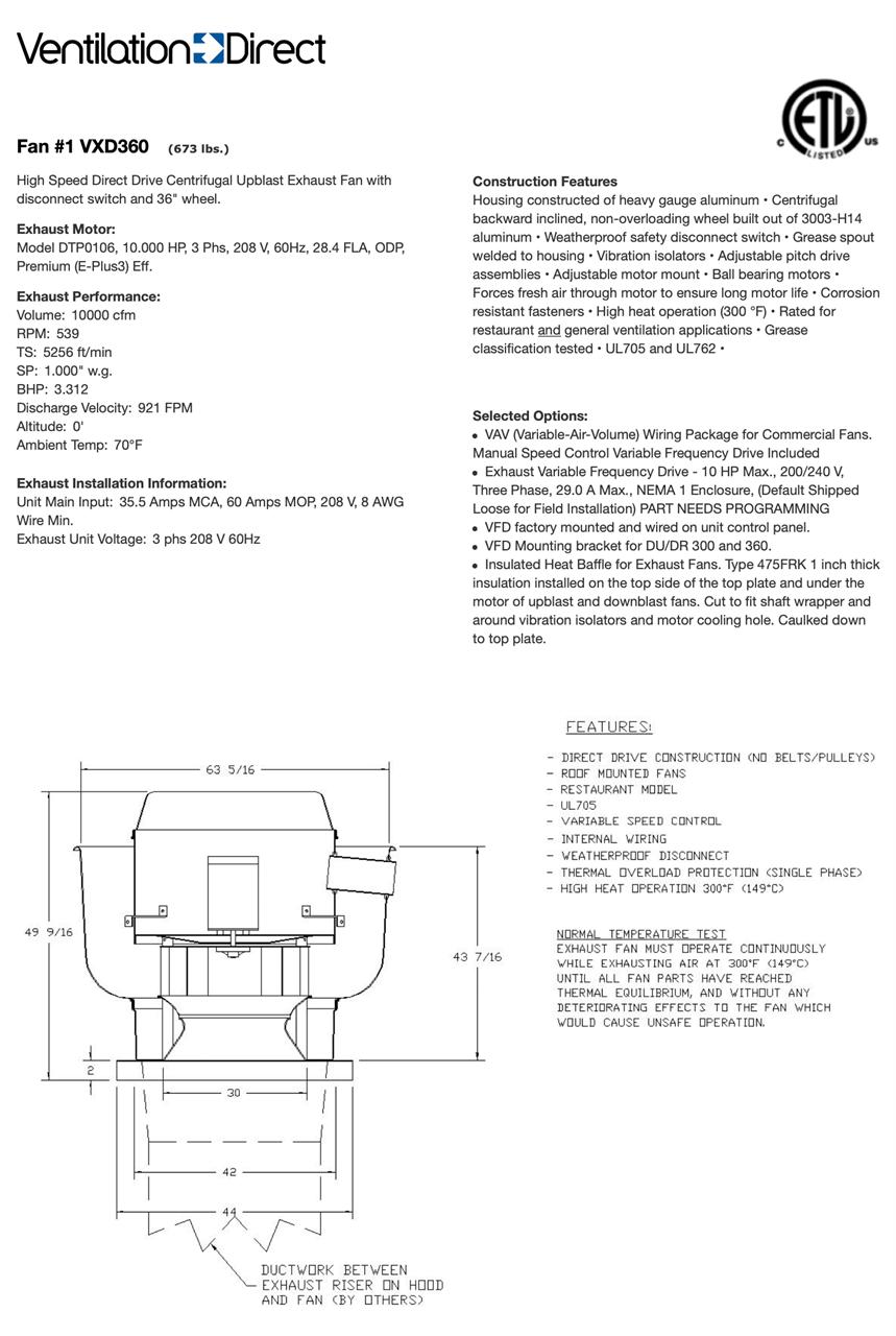 Ventilation Direct :: Premium Efficiency Direct Drive ... on leeson motor wiring diagram, direct drive blower motor wiring diagram, ceiling fan speed switch diagram,