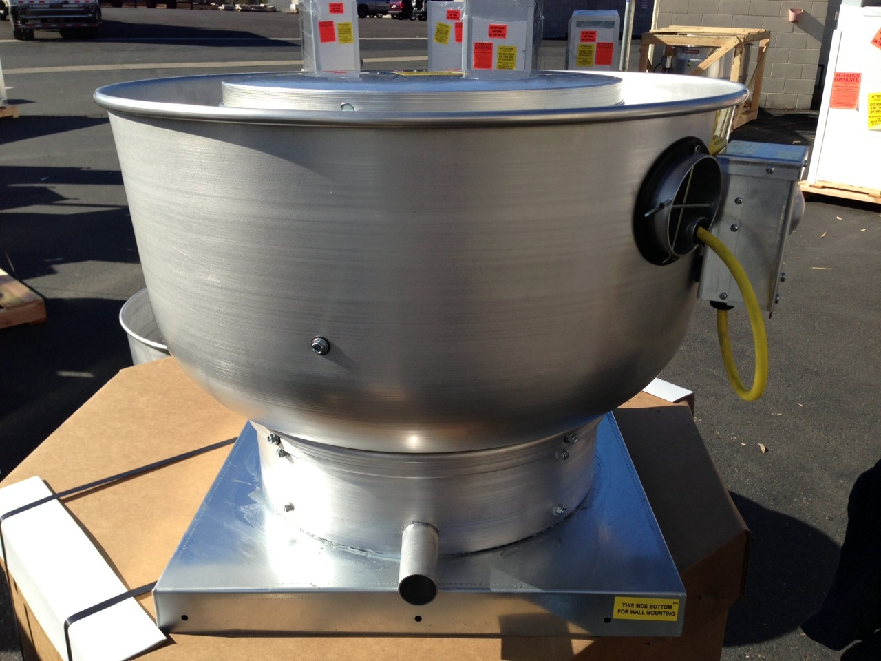 Picture of Food Truck Exhaust Fans